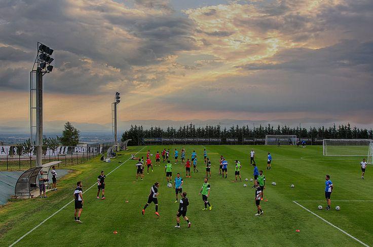 Paok Fc Thessaloniki Training