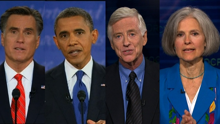 #election2012 It's time for a multi-party system so we have a real chance at real change!  Expanding the Debate Exclusive: Third-Party Candidates Break the Sound Barrier as Obama-Romney Spar @obama @romney