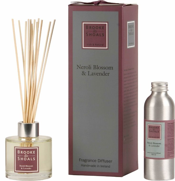 Brooke & Shoals | Reed Diffuser and Refill Oil | Neroli Blossom & Lavender | Relaxing
