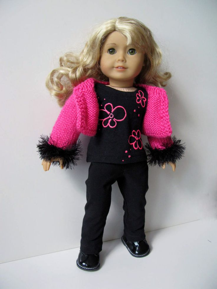 230 best images about AMERICAN GIRL doll (plus) knitting patterns PLUS some o...