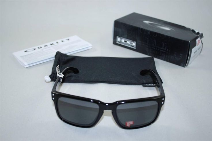 authentic oakley sunglasses  brand new oakley holbrook 009102 02 men's designer sunglasses black authentic #oakley #holbrook00910202mensdesigner