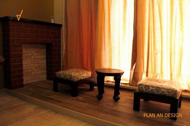 #living room #virtual #mental #low #coffee #table #rustic