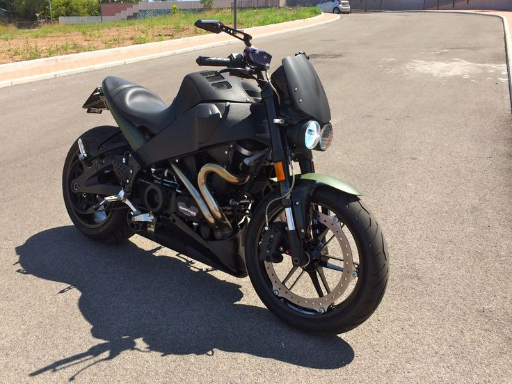 my BUELL XB12 Scg Special with 240 Fat Rome IT