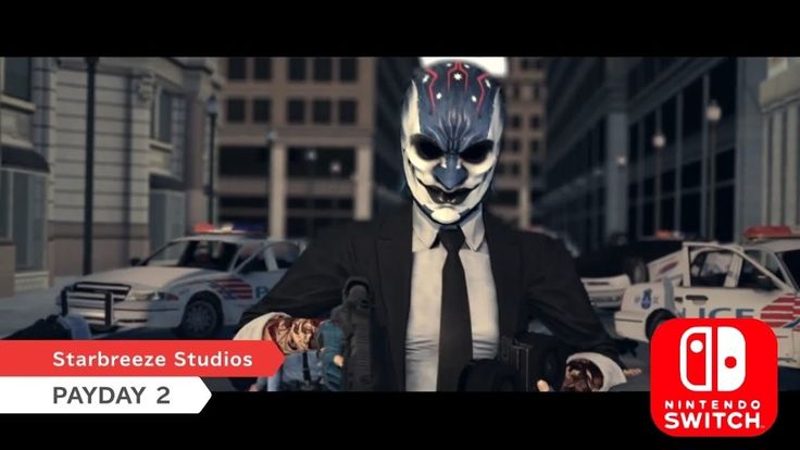 Payday 2 is an action game that you can play with up to four people. PAYDAY 2 comes with an exclusive character, named Joy, which initially will only appear in the Switch-version of the game. https://www.nintendoreporters.com/en/news/nintendoswitch/payday-2-joy/