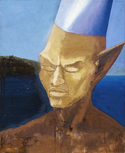 Ryszard Woźniak, obraz jest myślą, myśl jest obrazem
