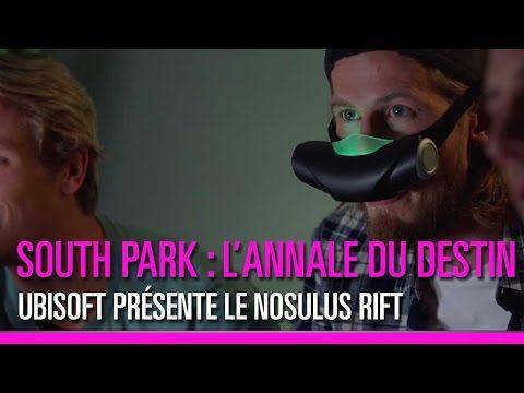 Nosulus Rift a été créé pour « South Park : L'annale du destin », le dernier jeu d'Ubisoft où le pet est un véritable pouvoir à exploiter. Couplé au Nosulus Rift, le jeu vous propose de sentir en temps réel les pets lachés par les protagonistes.