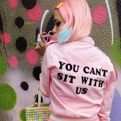 You can't sit with us #meangirls