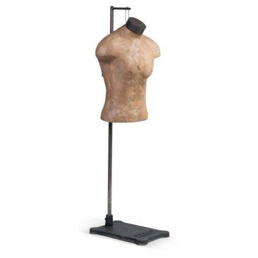Check out this item at One Kings Lane! Male Mannequin Torso w/ Stand