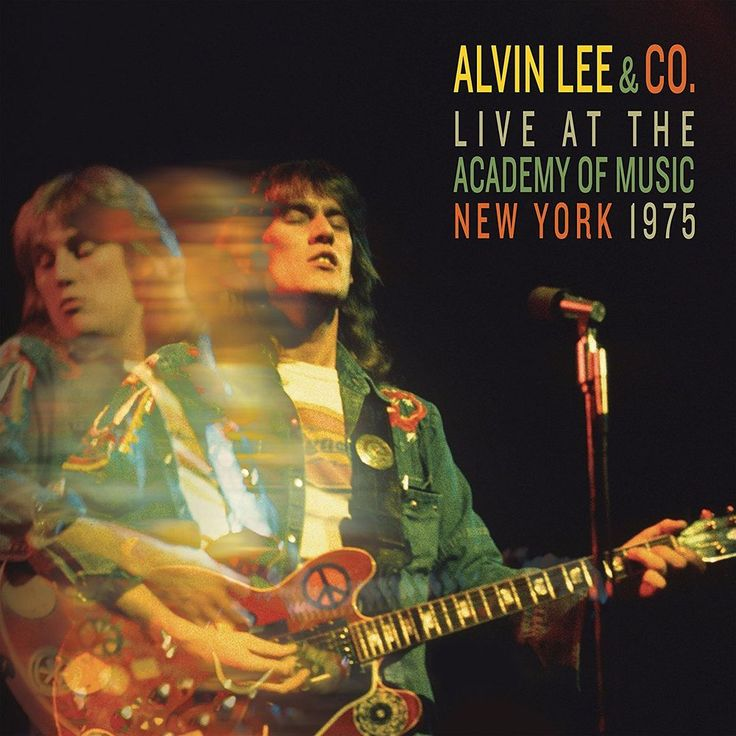 Alvin Lee Andco. Live at the Academy of Music New York 1975) New Free Shipping