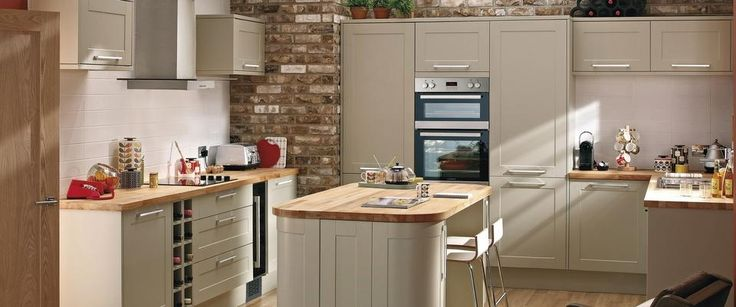 Burford Grey Kitchen Range | Kitchen Families | Howdens Joinery