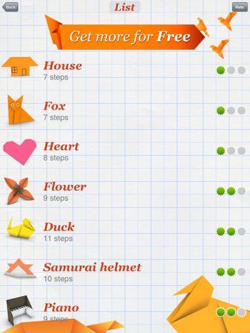 Appen är uppbyggd med enkla instruktioner att föllja steg för steg för att kunna vika origami. Tänk på alla de elever som behöver ha något i händerna för att kunna sitta stilla och lyssna... Kan vara värt ett försök att nyttja deras motorik till att skapa lugn istället för att rastlösheten ska ge upphov till oro.