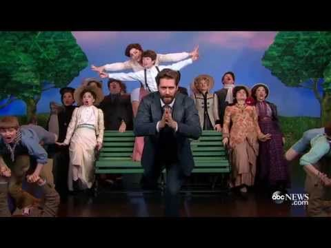 "FINDING NEVERLAND in Rehearsal: ""What You Mean to Me"" with Matthew Morrison & Laura Michelle Kelly - YouTube"