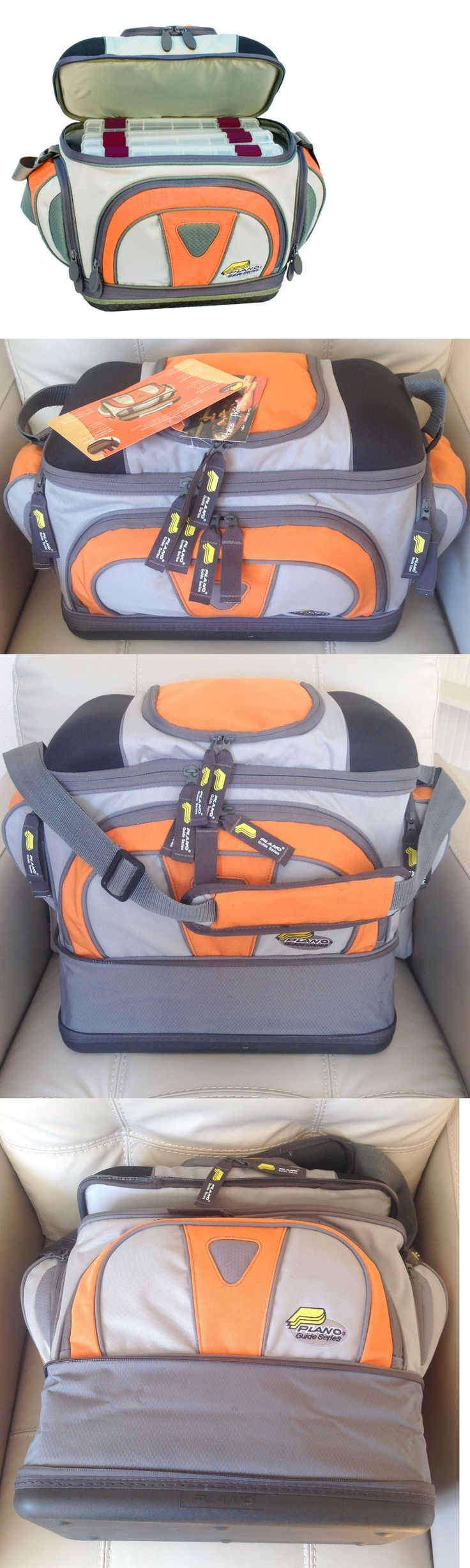 Tackle Boxes and Bags 22696: Plano Guide Series Angler Fishing Tackle Bag With 4 Utility Tray Storage Boxes -> BUY IT NOW ONLY: $32.4 on eBay!