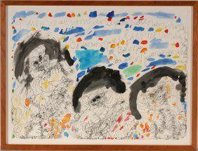 Dwight McIntosh. 3 Colorful Figures.