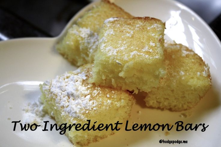2 Ingredient Lemon Bars Recipe at Food Allergies on a Budget 1024x682 Two Ingredient Lemon Bars Recipe