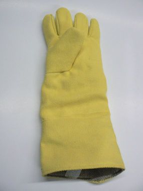 "HEAT RESISTANT KEVLAR GLOVES FURNACE 18"" LEFT HAND"