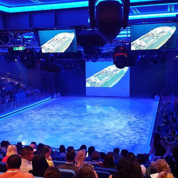 The new Harmony of the Seas has an indoor ice skating rink. This ship is a destination all by itself.  How do you choose your cruise? Is the destination or the ship amenities more important?  #travel #travelagent #cruise #harmonyoftheseas #royalcaribbean