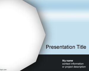 Free Polygon PowerPoint Template