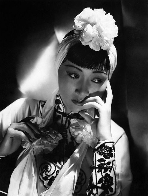 Anna May Wong in Dangerous to Know 1938 Paramount outfit designed by Edith Head.