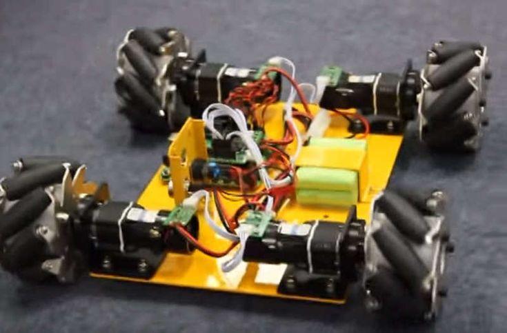 MINI MECENUM RAD roboter auto smart auto chassis rc
