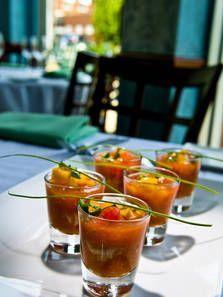 Recept Apitizer Geroosterde Tomaat met Krab