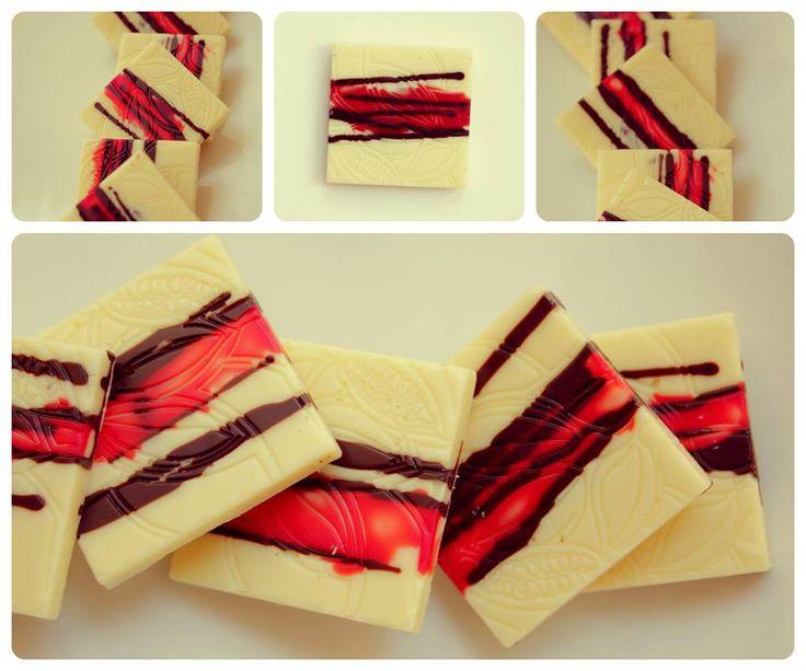 Čtvereček 4g bílá čokoláda