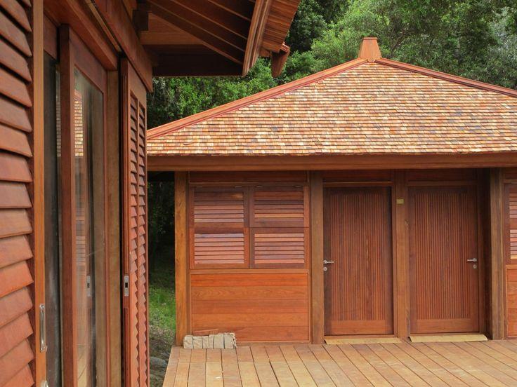 High Quality Bungalow Bois 36 Volets Et Persienne En Teck · BungalowsLodgesWooden HousesBeach  ...