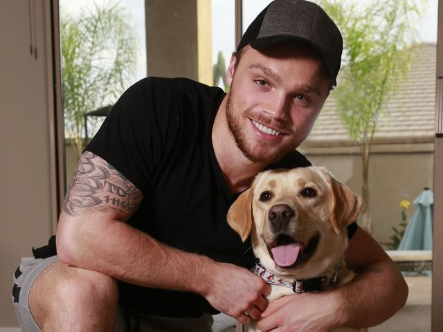 A Coyote and his dog: Canine companion helps NHL rookie Max Domi cope with diabetes