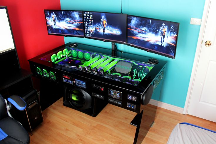 My computer rig tower pc gaming setup liquid cooled bf4 battlefield wall paper www.facebook.com/imfacerollgaming www.youtube.com/user/imfacerollpcgaming