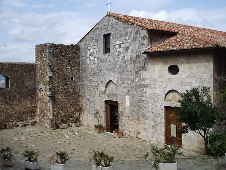 San Giorgio Church Montemerano  http://www.charminly.com/charming-medieval-villages-in-maremma/