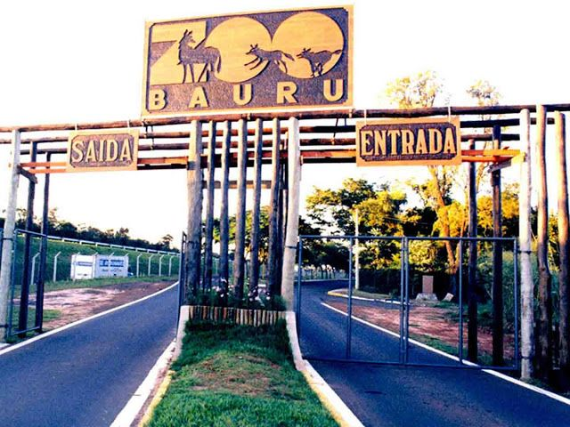 LEVEI MEU FILHO: ZOOLÓGICO BAURU - BAURU - SP