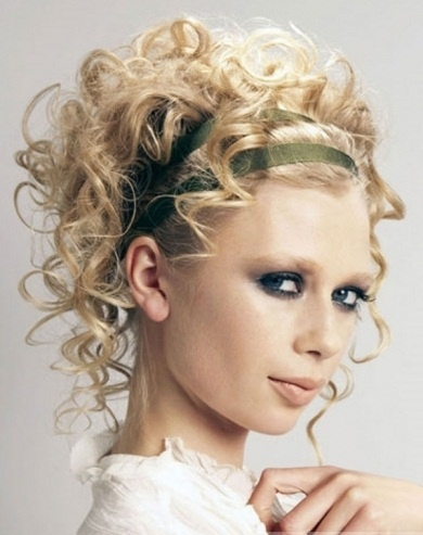 Flirty Curly Updo Hair Style 2014 Hairstyles 2014 For Women Pinterest Hair Styles 2014