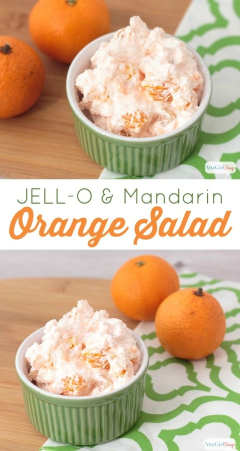 JELL-O Mandarin Orange Salad is a light and refreshing dessert. perfect for potlucks and summer barbecues. It's easy to whip up a batch in a hurry.