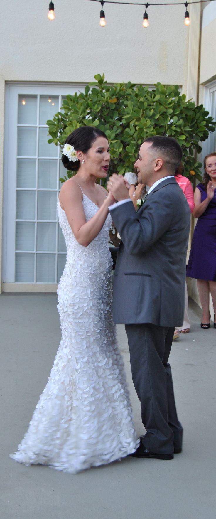 Intimate Moment During First Dance Destinationweddingdj Mbeventdjs Thereachkeywestdj Weddingdj Keywesteventdj Key West