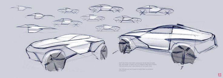 Mercedes Rally on Behance