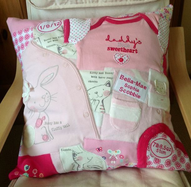 Sewing Memories - Memory Quilt/blankets, Keepsakes and Cushions in Medway - Household & Gifts