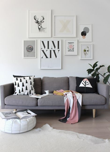 Frames, wall decoration. A Minimal and Liveable New Zealand Home By The Beach | Design*Sponge