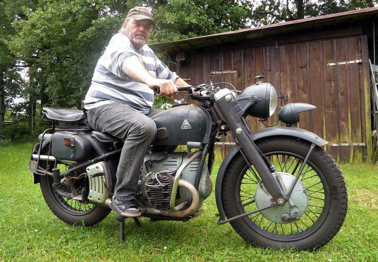Oldtimer #Condor A580 Bj. 1949 in #kradblatt Ausgabe 11/17 #kradfahrn #motorrad #vintage