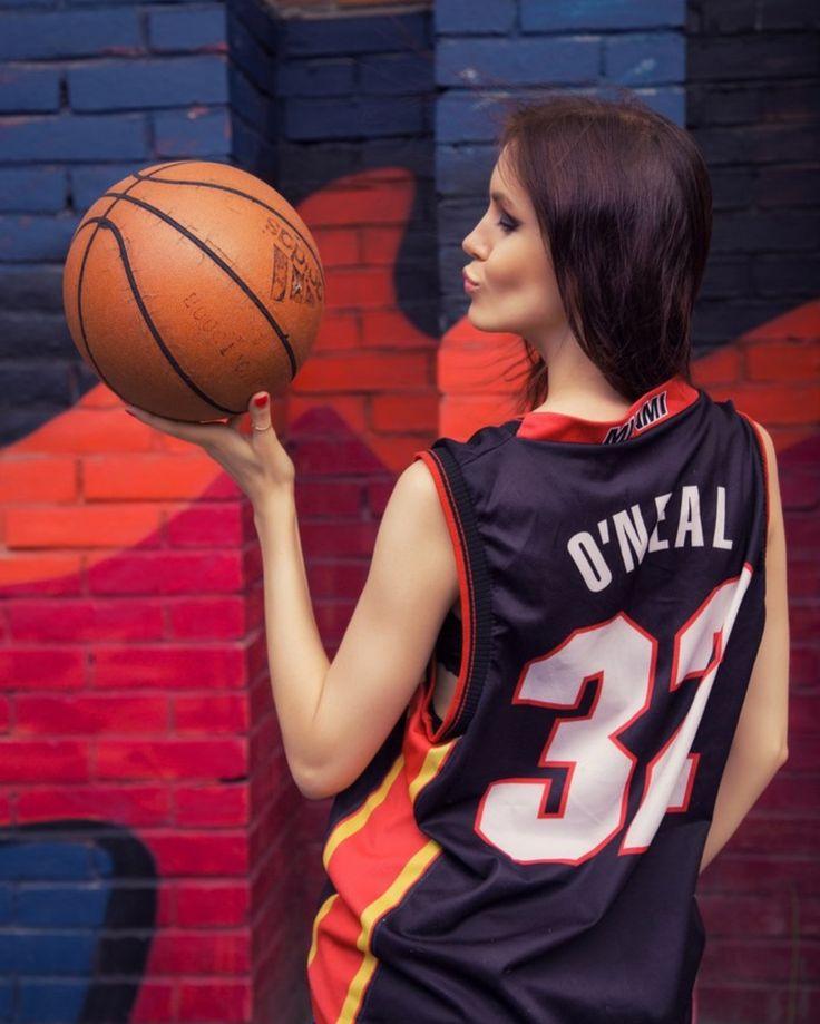 Maryana Dan model St. Petersburg, basketball set/ O'neal love