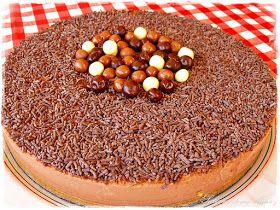 Saboreando con Mavi: Tarta fresca light de chocolate y queso batido 0/0