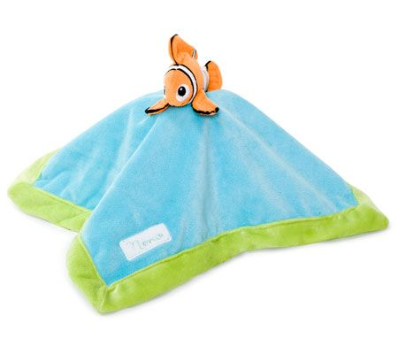 Finding Nemo Security Blanket! I have a little tiny stuffed Nemo and can make a minky and silk security blanket instead.