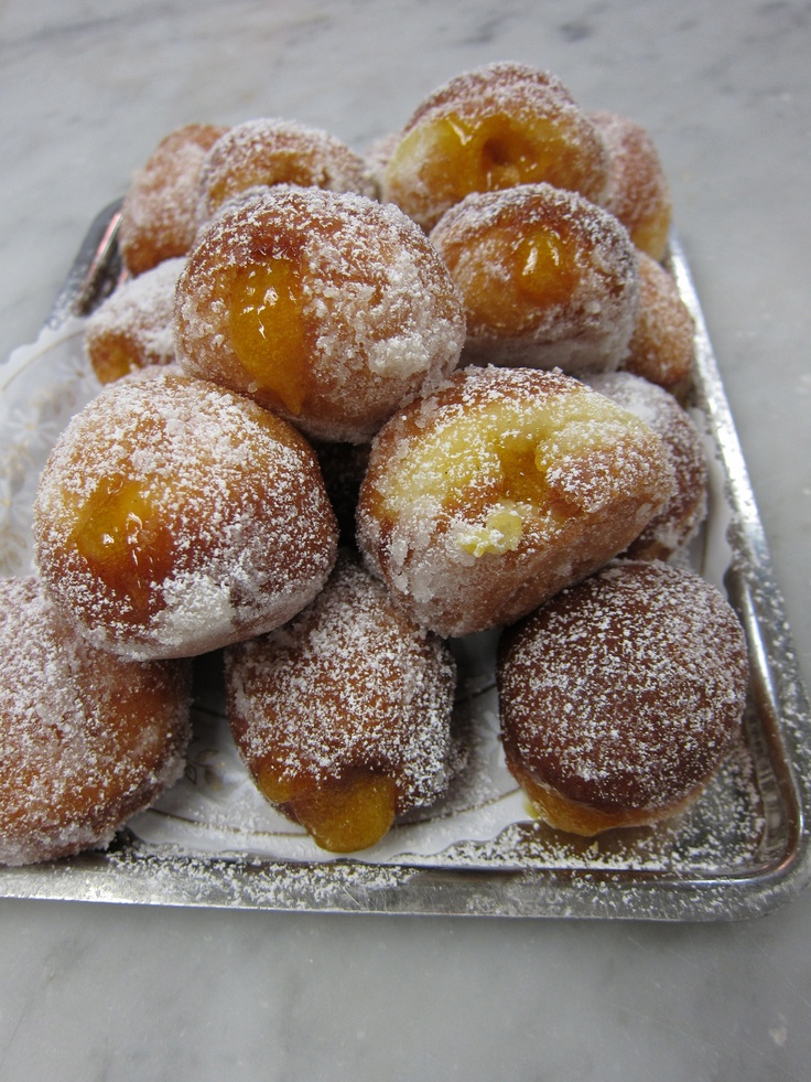 Small Doughnuts filled with My Orange Apricot Marmalade | Recipes ...