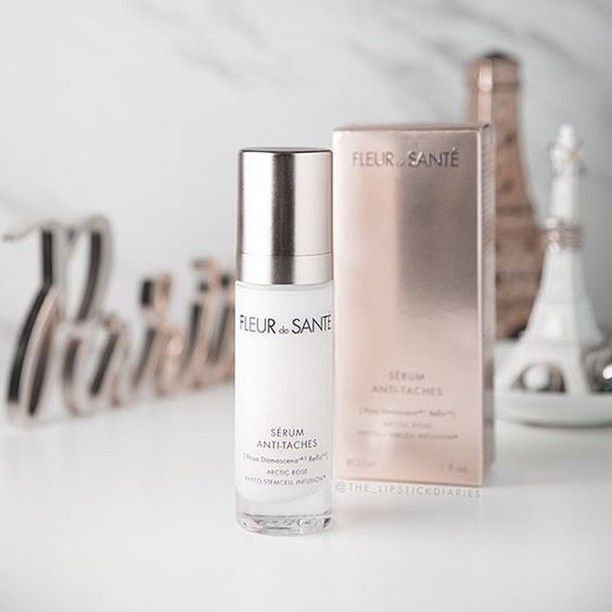 """Great review from sweet @the_lipstickdiaries: """"It just looks and feels really luxurious. The serum is quite thin and feels lightweight on the skin, sinking in quickly."""" Wanna try our Anti-Dark Spot Serum? We invite you to visit us here: www.fleurdesante.com"""