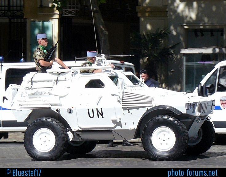 Défilé militaire du 14 juillet 2008, Paris, rue Royale.
