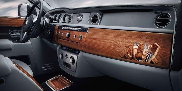 2014 Paris Motor Show Rools Royce Phantom Metropoliton Interior