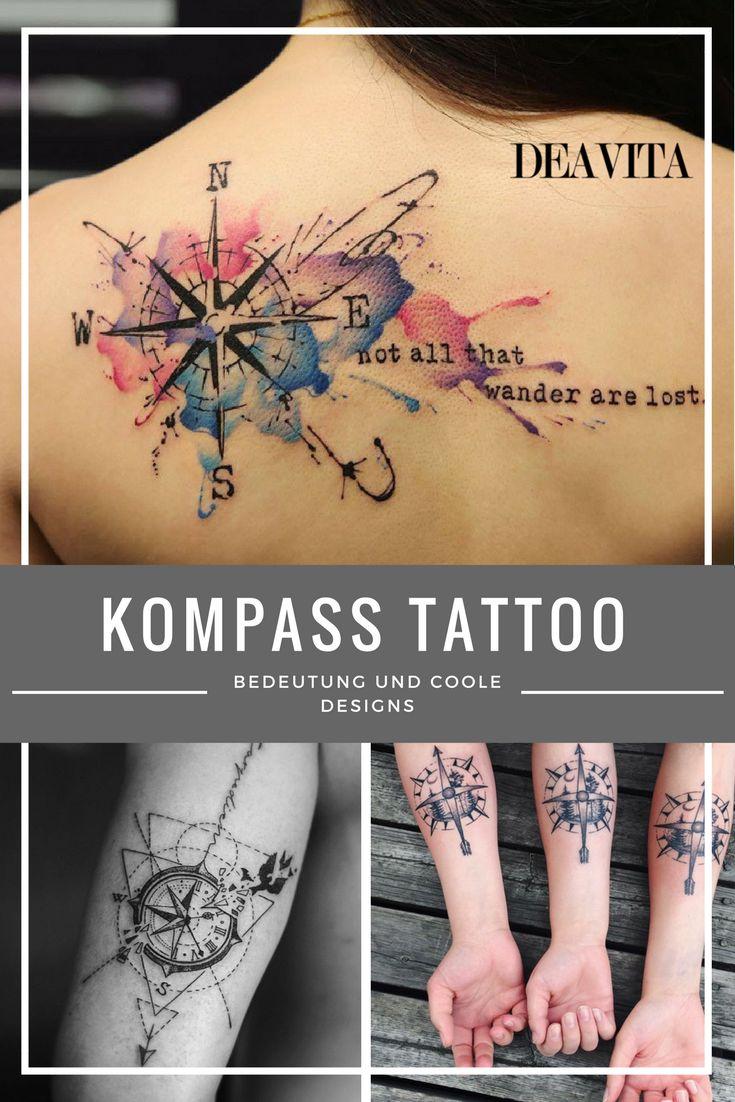 Das Kompass Tattoo ist tiefgründig und auch heute vielseitig einsetzbar. Das ma… – T A