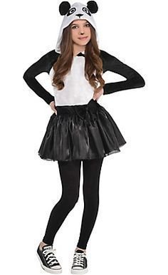 Image result for panda bear costume girls