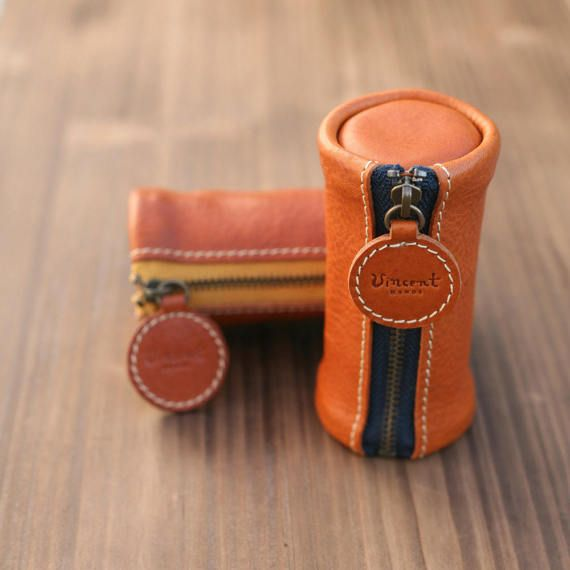 Handmade leather Multi pouch Small pocket by VincentHands on Etsy