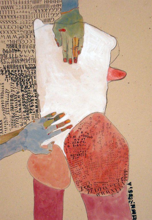 "Saatchi Online Artist: Kasia Gawron; Pencil, 2012, Drawing ""BODY 7"""