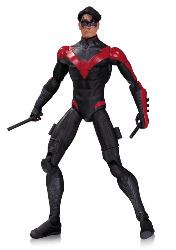 Figura Ala Nocturna (Nightwing) 17 cm. The New 52. DC Cómics. DC Collectibles Estupenda figura articulada de Ala Nocturna (Nightwing) de 17 de altura, fabricada en material de PVC y por supuesto 100% oficial y licenciada protagonista de las viñetas de los DC Cómics.